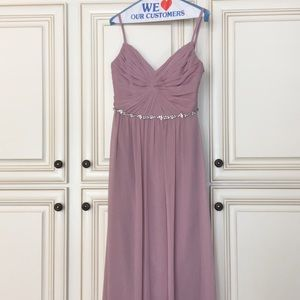 Lavender gown. Worn once.